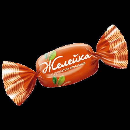 Карамель Желейка с ароматом апельсина 1кг Н.Тагил