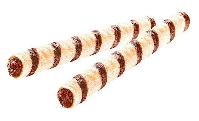 Вафельные трубочки Лесной орех 1кг. Яшкино