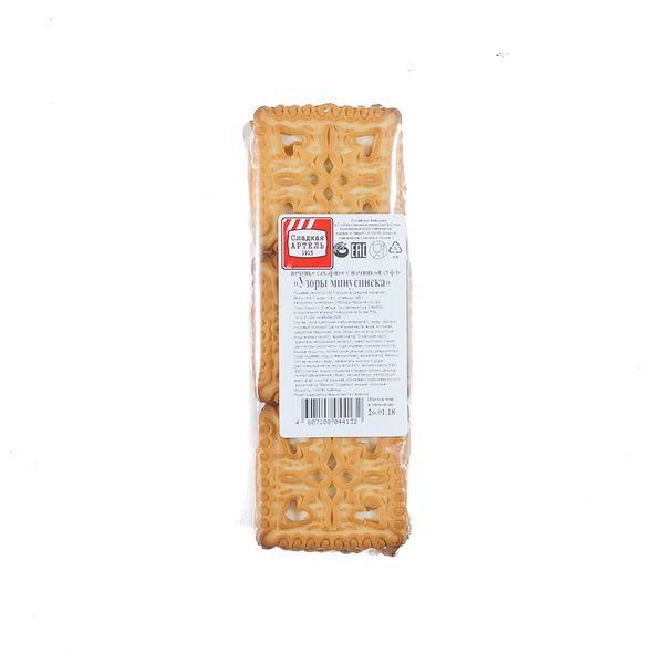 Печенье Узоры Минусинска с суфле 1кг. Минусинск