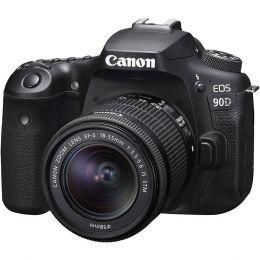 Цифровой зеркальный фотоаппарат Canon EOS 90D Kit 18-55 is stm