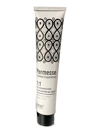 Barex Permesse крем - краска c экстрактом Янтаря 2.0 Очень темный каштан натуральный (новый дизайн)