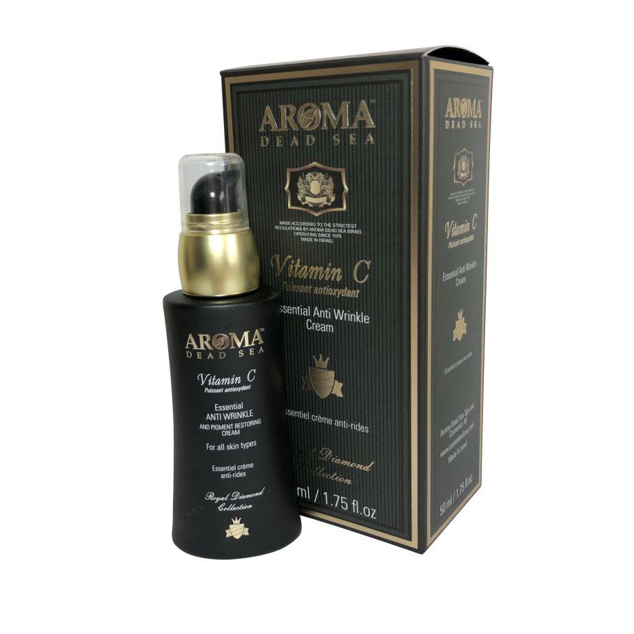 Крем от морщин и пигментации для всех типов кожи с витамином С, Aroma Dead Sea (Арома Дэд Си) 50 мл