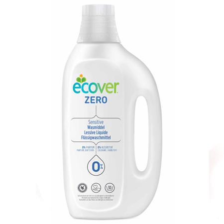 Ecover ЭКО Концентрированная жидкость для стирки Zero для цветного, 1.5 л