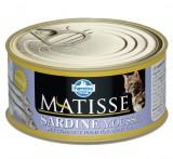 Farmina Matisse Sardine Mousse Мусс для кошек со вкусом сардины, 85 гр.