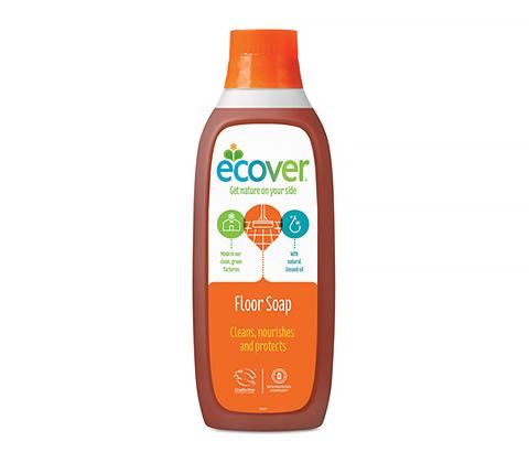 Ecover Жидкий концентрат с льняным маслом для пола, 1 л