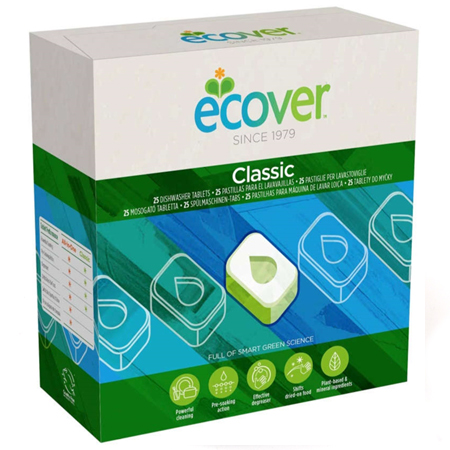 Ecover ЭКО Таблетки для посудомоечной машины, 500 г