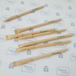 картонные ручки с логотипом на заказ