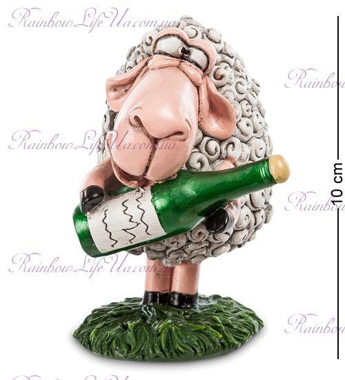 """Фигурка овечка с шампанским """"W.Stratford"""""""