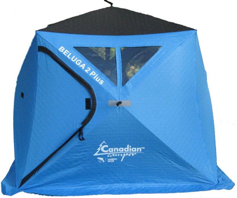 Зимняя палатка Canadian Camper Beluga 2 Plus 2 местная трехслойная (0322030006)