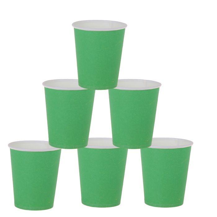 Стаканы зеленые