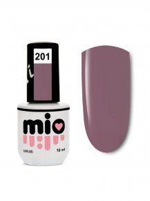 MIO гель-лак для ногтей 201, 10 ml