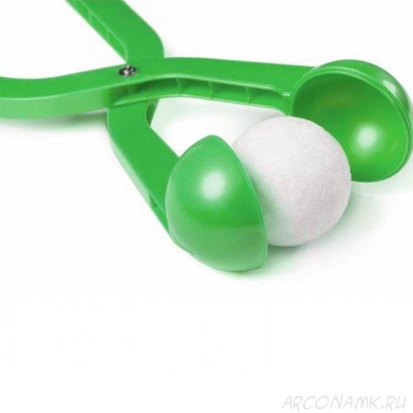Снежколеп (диаметр снежка 5 см), Цвет: Зеленый