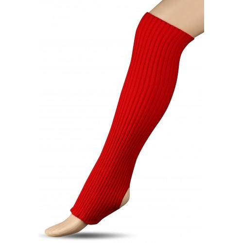 Гетры для гимнастики и танцев (шерсть) СН1 красные