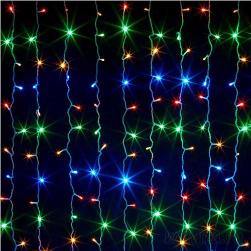 Светодиодная гирлянда Шторка 500 LED, 3х3 м., Цвет Разноцветный