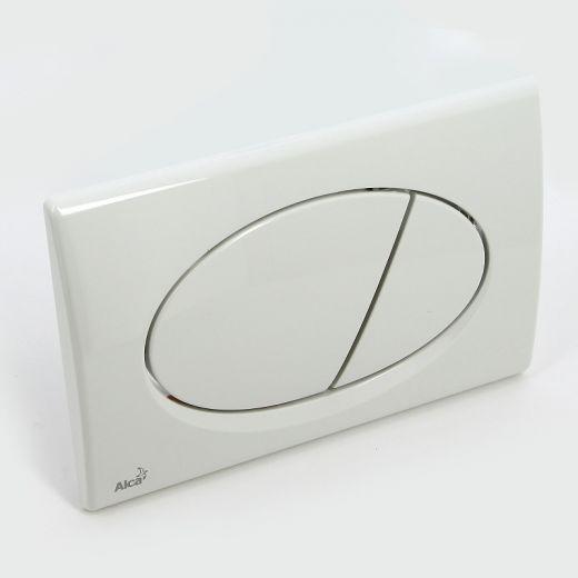 Кнопка смыва Alcaplast M70 пластик белый