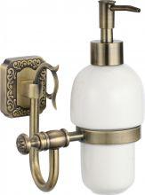 S-006431 Savol Taoli Дозатор жидкого мыла, керамический латунный.Бронза