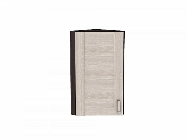 Шкаф верхний торцевой Лофт ВТ230 (Cappuccino Veralinga)