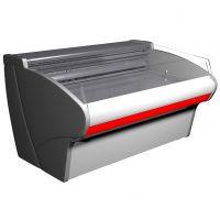 Витрина холодильная Полюс Bavaria G110 SP 1,25-2 (ВХСл-1,25ш Carboma G110 (рыба на льду))