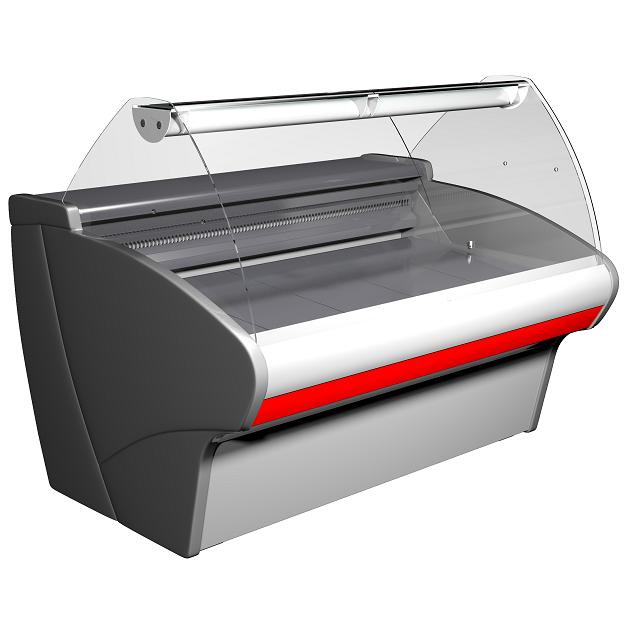 Витрина холодильная Полюс Bavaria G110 VM 1,25-1 (ВХС-1,25ш Carboma G110 (динамика))