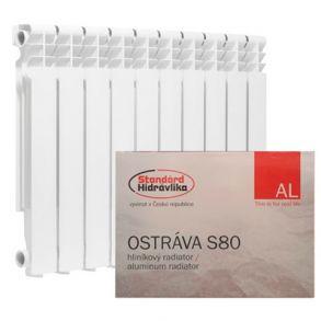 Алюминиевый радиатор Standard Hidravlika Ostrava S 80