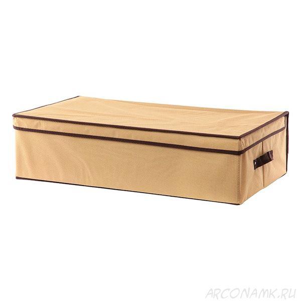 Складной кофр с жёстким каркасом для хранения вещей, Размер: 45х30х20 см