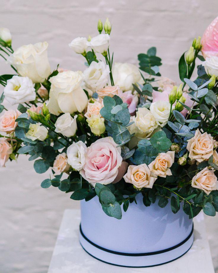 """Коробка с цветами """"Любимой"""""""