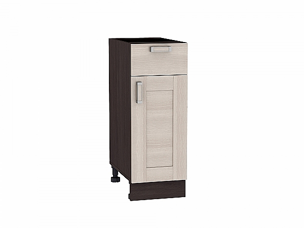 Шкаф нижний Лофт Н301 (Cappuccino Veralinga)