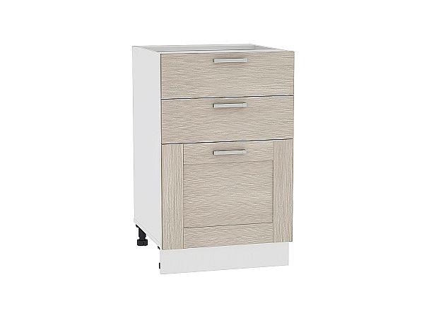 Шкаф нижний Лофт Н503 (Cappuccino Veralinga)