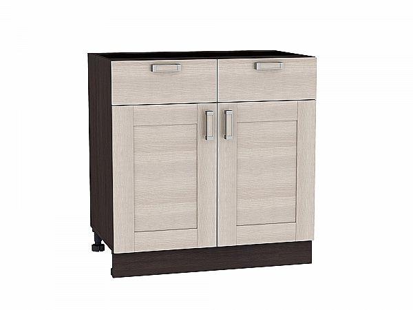 Шкаф нижний Лофт Н801 (Cappuccino Veralinga)