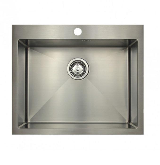 Врезная кухонная мойка Seaman ECO Marino SMB-6151S.B 61х51см нержавеющая сталь