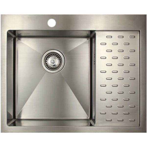 Врезная кухонная мойка Seaman ECO Marino SMB-6351PRS.B 63х51см нержавеющая сталь