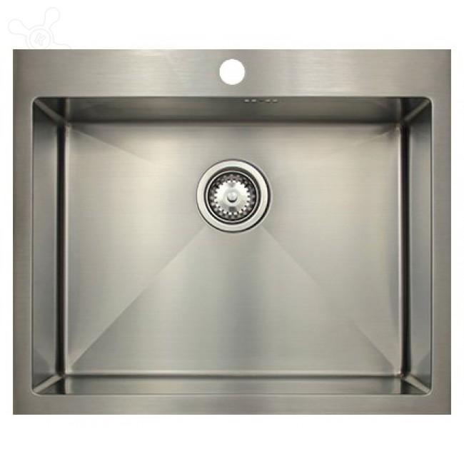 Врезная кухонная мойка Seaman ECO Marino SMB-6151S.A 61х51см нержавеющая сталь