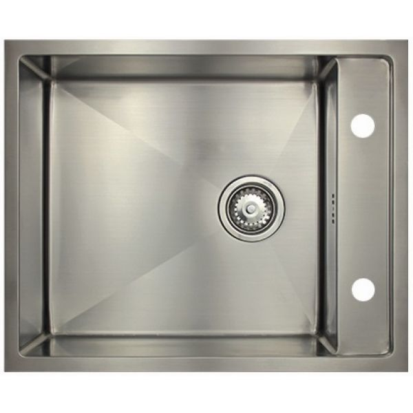 Врезная кухонная мойка Seaman ECO Marino SMB-610XS.B 61х50см нержавеющая сталь