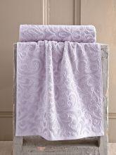 Полотенце махровое HAZAL 70*140 (гр.розовое) Арт.3157-2