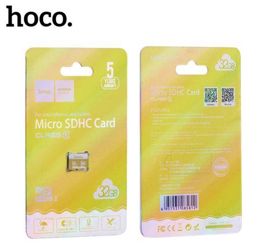 Карта памяти microSD 32 Gb Hoco 10 class