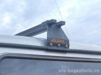 Багажник на крышу ГАЗ Соболь Баргузин, Атлант, стальные дуги