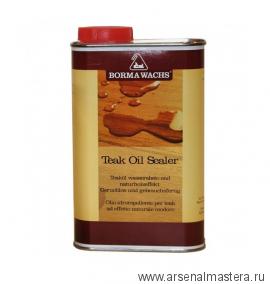 Масляное покрытие с водостойким экстрактом тика Borma Teak oil sealer 500 мл 0308
