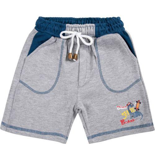 Шорты для мальчика Bonito kids 2-5 лет серые