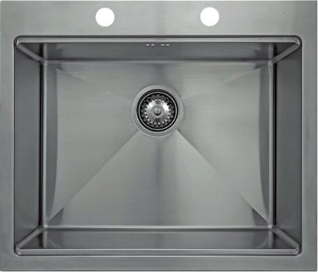 Врезная кухонная мойка Seaman ECO Marino SMB-6152SK с клапаном-автоматом 61х52см нержавеющая сталь