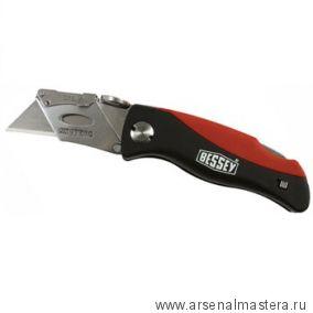 Немецкий складной нож с быстросменным лезвием Bessey DBKPH-EU