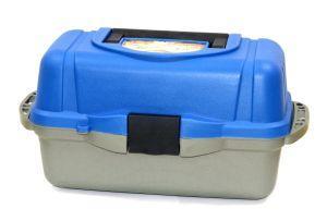 Рыболовный ящик Следопыт серый PF-BU-T01