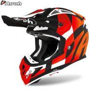 Шлем Airoh Aviator Ace Trick, Оранжевый матовый
