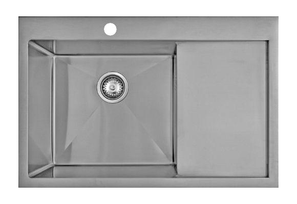 Врезная кухонная мойка Seaman ECO Marino SMB-7851RS.B 78х51см нержавеющая сталь