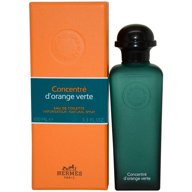Одеколон Hermes Concentre D'orange Verte 100 мл - подарочная упаковка