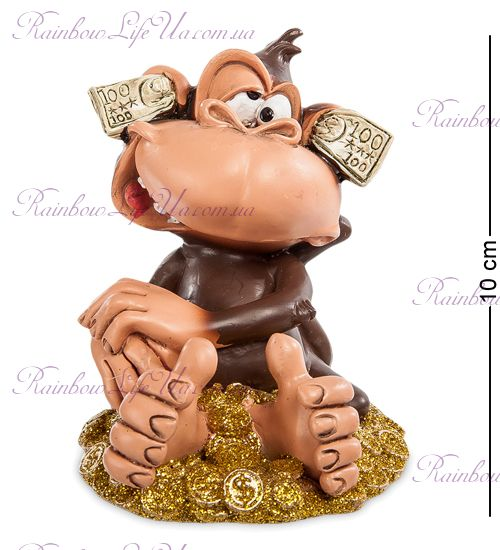 "Фигурка обезьяна деньги: не слышу ""W.Stratford"""