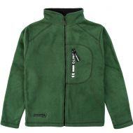 Флисовый джемпер для мальчиков Bonito kids 9-12 лет, зеленая