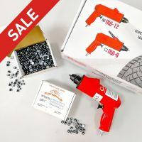 Шиповальный пистолет + набор шипов