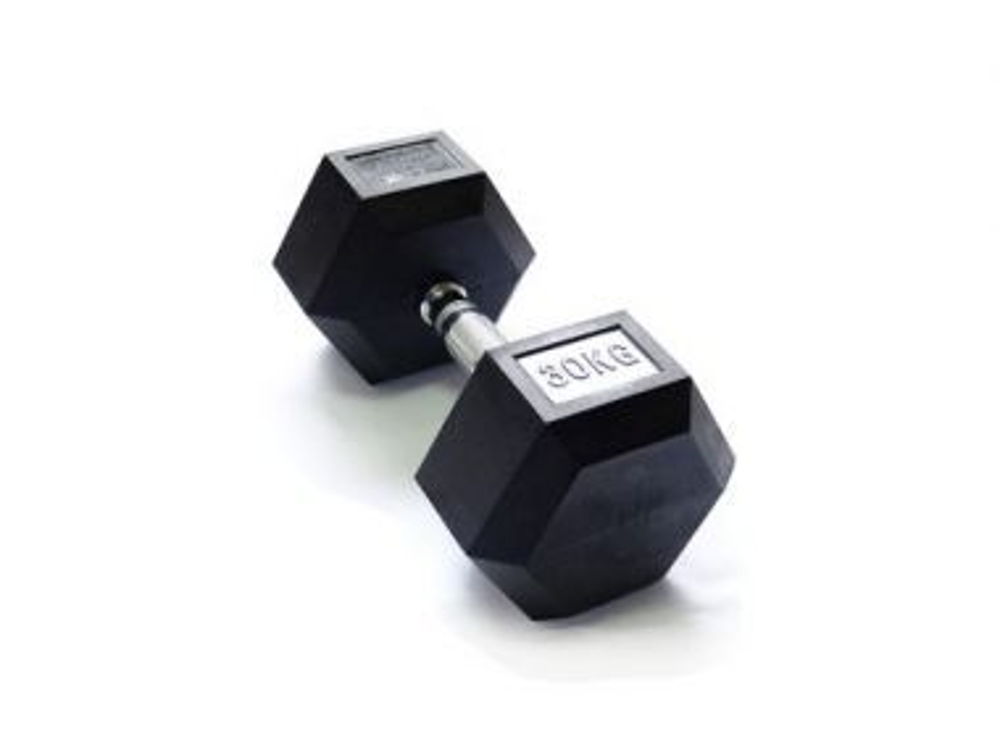 Гантель 30 кг гексагональная