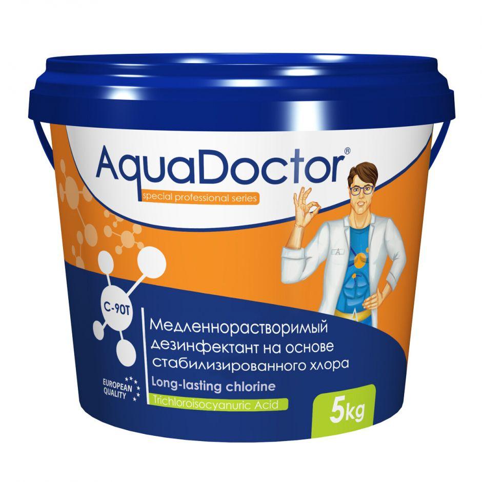 Хлор длительного действия в таблетках AquaDoctor C90-T