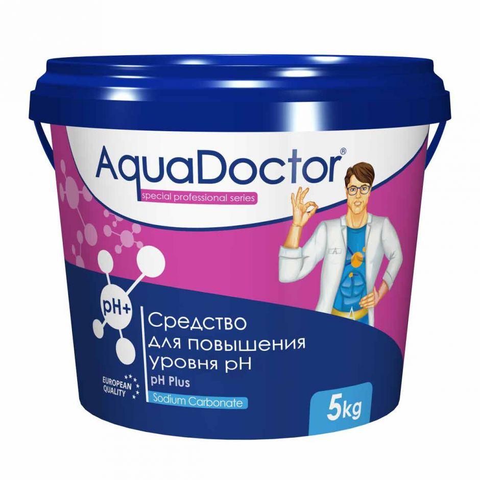 Повышение уровня pH AquaDoctor pH Plus